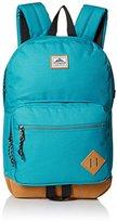 Steve Madden Men's Solid Nylon Classic Sport Backpack