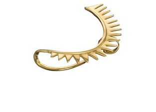 Annelise Michelson Gold Plated Carnivorous Ear Cuff