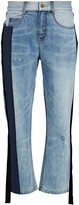 Hellessy Holbourne Cropped Boyfriend Jeans