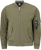 Carhartt Wip Adams Bomber Jacket, Dollar Green