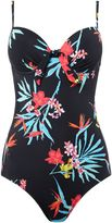 Lepel Tropics plunge swimsuit