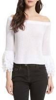 Rebecca Minkoff Women's Tolowa Off The Shoulder Blouse