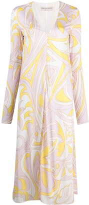 Emilio Pucci Dinamica printed dress