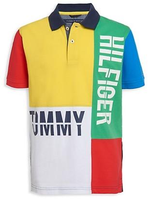 Tommy Hilfiger Little Boy's Colorblock Polo