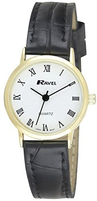 Ravel Womens Analogue Quartz Watch with PU Strap R0129.11.2