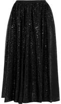 MICHAEL Michael Kors Sequined Tulle Midi Skirt