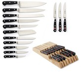 Wusthof Classic 15-Piece in Drawer Knife Set