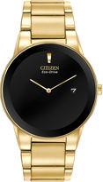 Citizen Eco-Drive Axiom Mens Gold-Tone Watch AU1062-56E