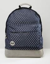 Mi-Pac Denim Spot Backpack In Blue