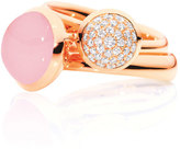 Tamara Comolli Large Bouton Pink Chalcedony Cabochon Ring, Size 7/54