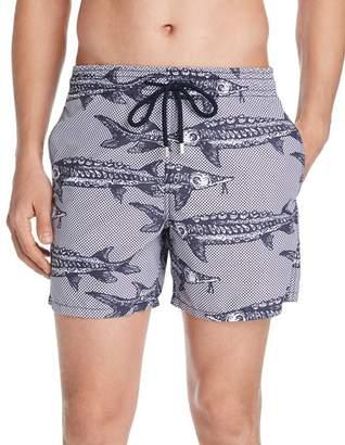 Vilebrequin Belle ou Gars Fish-Print Swim Shorts