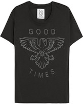 Zoe Karssen Good Times cotton and modal-blend T-shirt