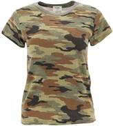 RE/DONE Camouflage Printed T-Shirt