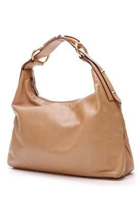 Gucci Hobo Beige Leather Handbags