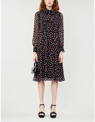 Diane von Furstenberg Aleka silk-blend midi dress