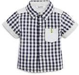 3 Pommes Boys' Checkered Shirt- Baby