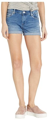Blank NYC The Fulton Roll Up Shorts in Dance Off (Dance Off) Women's Shorts