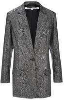 McQ by Alexander McQueen Women's Sequin Blazer Silver