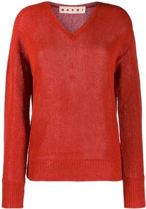 Marni Links loose-fit jumper