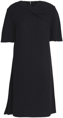 Proenza Schouler Twist-detailed Satin-crepe Mini Dress