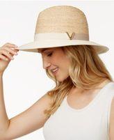 Vince Camuto Colorblock V Panama Hat