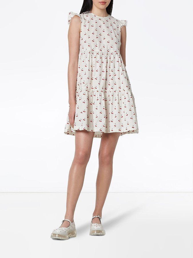 Thumbnail for your product : Marc Jacobs Cherry Print Dress