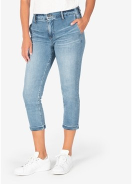 KUT from the Kloth Jennifer High-Rise Elastic-Waist Jeans