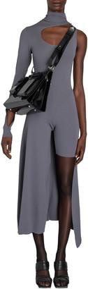 Boyarovskaya Claire Asymmetric Cutout Knit Dress