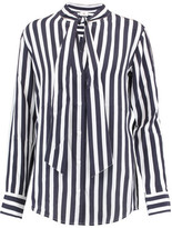 AG Jeans Arley Striped Silk Shirt