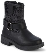 Nicole Miller Little Girl's & Girl's Faux Fur-Lined Embellished Booties