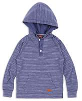 7 For All Mankind Boys' Hooded Henley - Little Kid