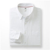 Uniqlo Men Oxford Slim Fit Long Sleeve Shirt