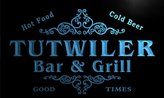 AdvPro Name u45936-b TUTWILER Family Name Bar & Grill Home Decor Neon Light Sign