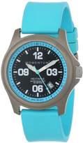 Momentum Women's 1M-SP17A1A HEATWAVE Titanium Watch with Blue Rubber Band