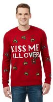 Red Herring Red 'kiss Me All Over' Christmas Jumper