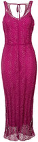 Nina Ricci embroidered midi dress - women - Viscose - S