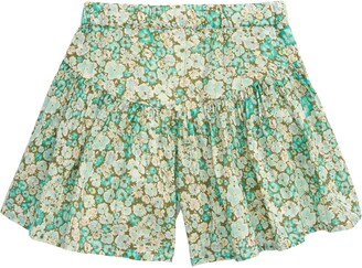 Peek Aren't You Curious Ditsy Floral Skort