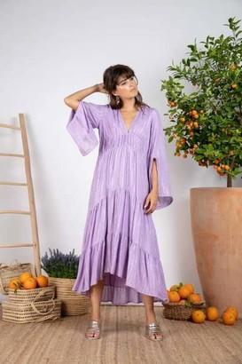SUNDRESS Lavender Claudia Long Roma Dress - XS/S