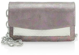 Nancy Gonzalez Mini Eden Snakeskin & Lizard Crossbody Bag