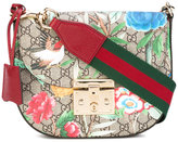 Gucci Tian print GG Supreme bag - women - Leather/Canvas - One Size