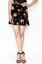 Vero Moda Velvet Skirt