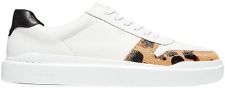 Cole Haan GrandPro Rally Leopard-Print Calf Hair Leather Sneakers