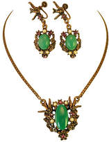 One Kings Lane Vintage Victorian Swallows Necklace Suite