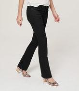 LOFT Tall Modern Boot Cut Jeans in Black