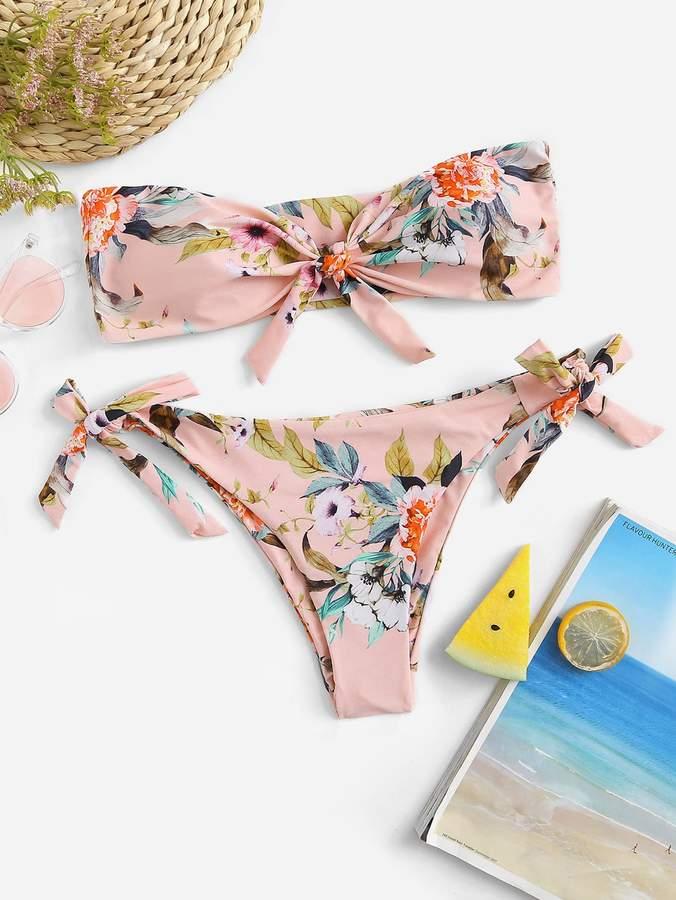 ce948cfd1b Tie Knot Bikini - ShopStyle