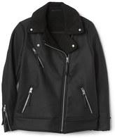 Gap Sherpa moto jacket