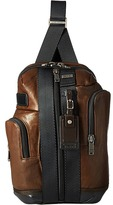 Tumi Alpha Bravo - Leather Saratoga Sling