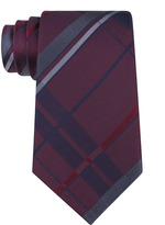 Kenneth Cole NEW YORK Multi-Colored Patterned Silk Tie