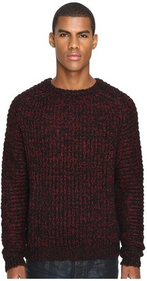 Just Cavalli Men's Marled Wool Sweater