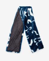 ZELLIA Marble faux fur scarf